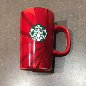 Starbucks red Christmas 2014 mug